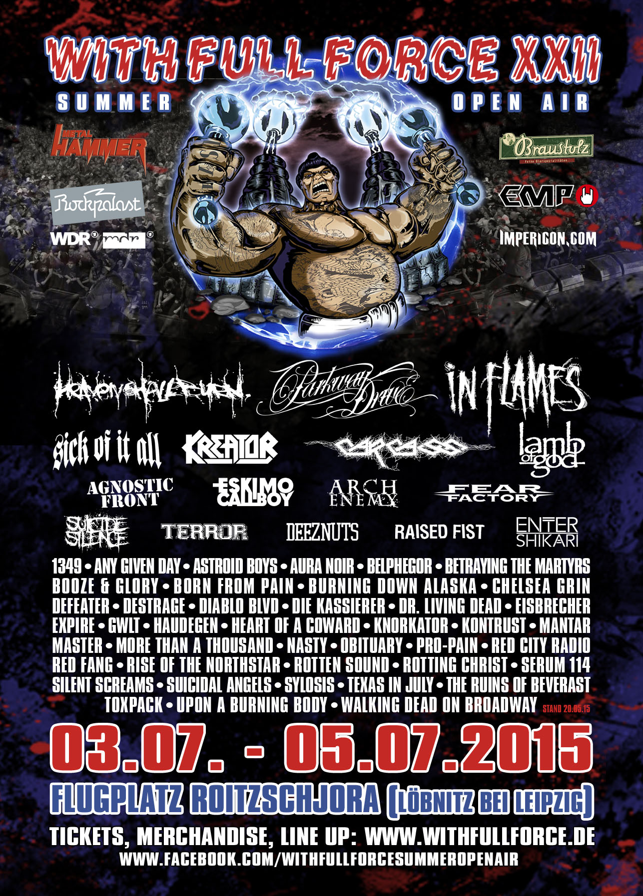 With Full Force Festival 2015