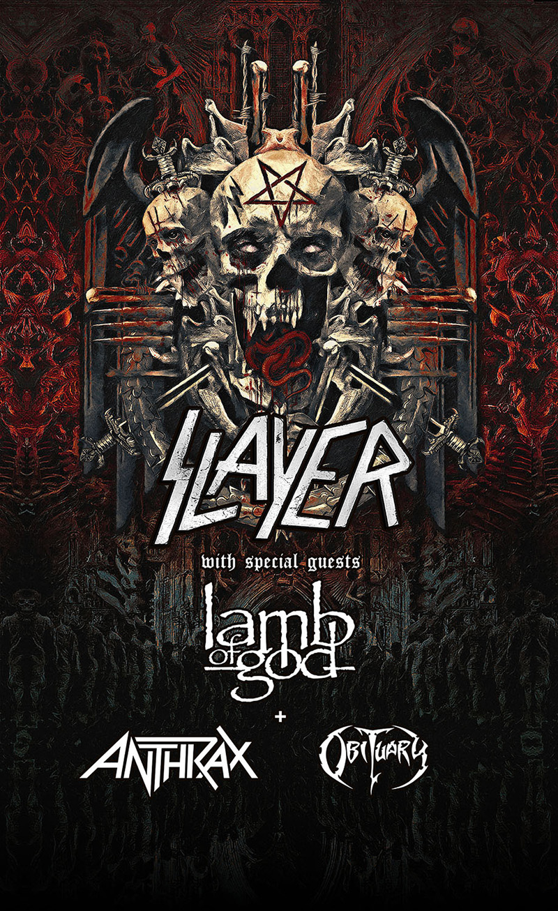 2018 Slayer European Farewell Tour