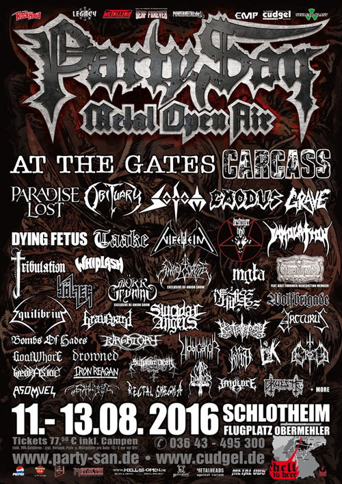2016 Party San Metal Open Air